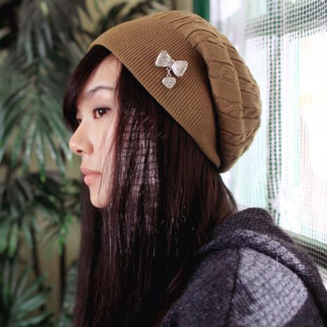 冬天帽子设计搭配图片