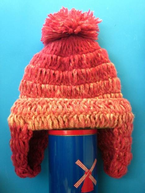 菠萝头帽子搭配图片