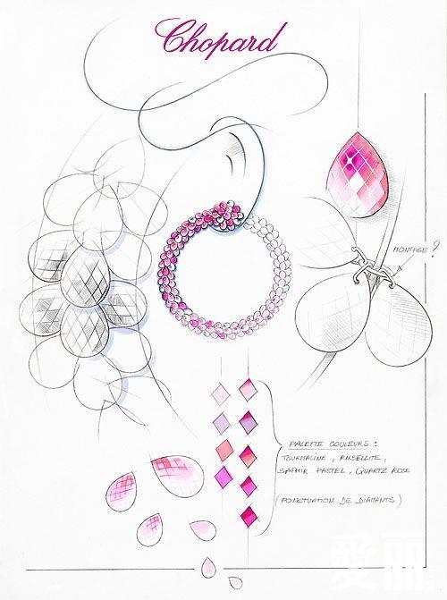 与高跟鞋相配的珠宝圈式耳环设计