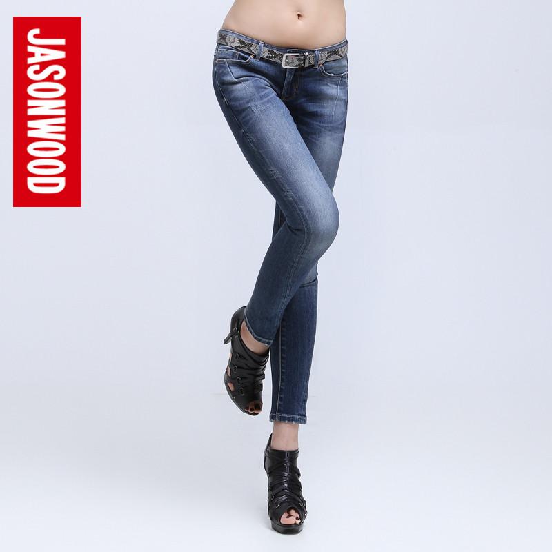 低腰牛仔裤美女搭配图片