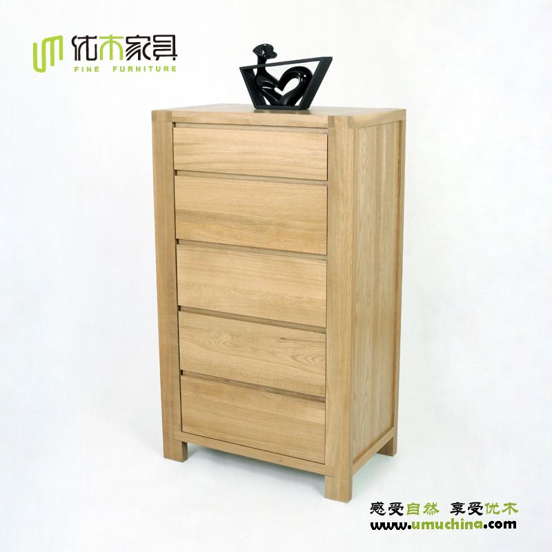 五斗柜实木搭配