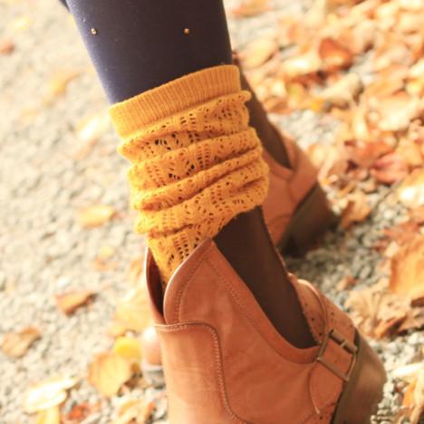 女生袜套搭配图片_女生袜套如何搭配