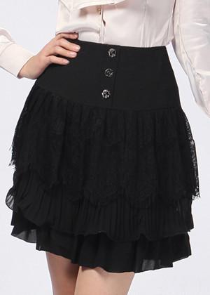 黑丝包裙搭配图片_黑丝包裙如何搭配