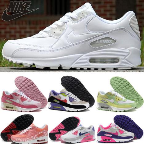 耐克女鞋max90女搭配图片