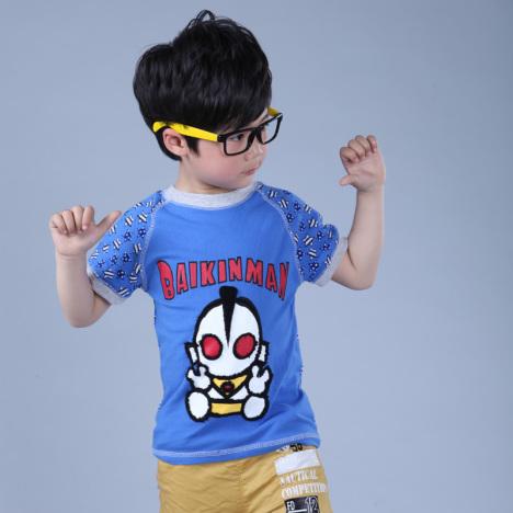 奥特曼儿童短袖t恤