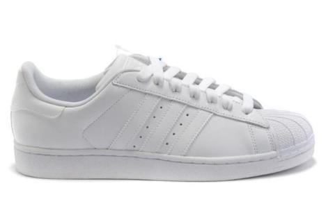 adidas白鞋搭配图片