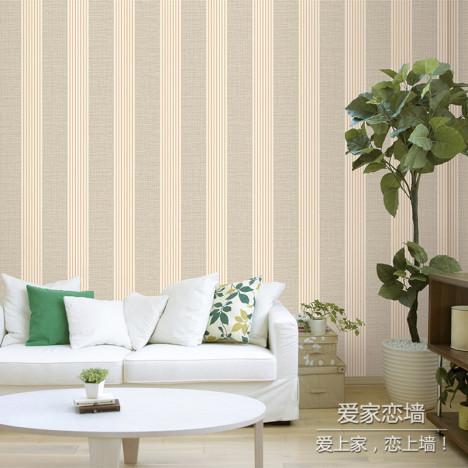 简约现代环保纯色墙纸搭配图片