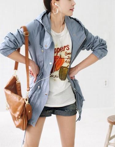 学生女装外套春季搭配图片