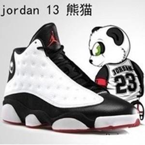 aj13熊猫女鞋搭配图片