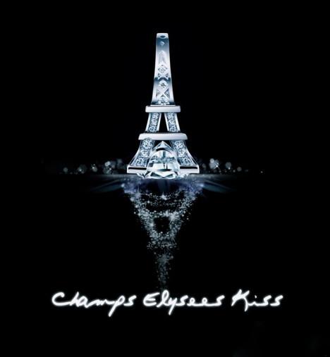 法国埃菲尔铁塔戒指搭配图片