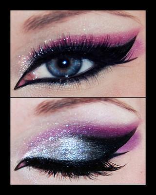 狐狸眼怎么画眼妆步骤