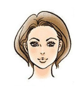 申字脸型: 给人感觉机敏,适宜                    2013年 01月12日 2图片