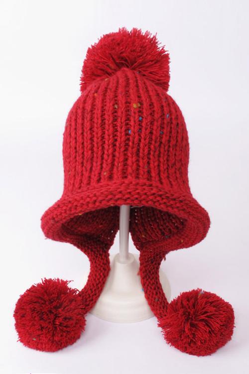 【韩国毛球毛线帽子】-配饰-配饰