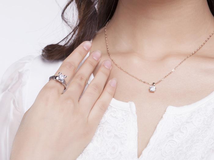 ido埃菲尔铁塔镂空立体戒指女