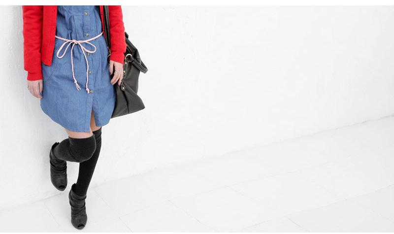 衣服腰绳的系法图解