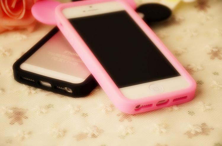 【iphone5/5s米奇边框】-配饰-手机配件