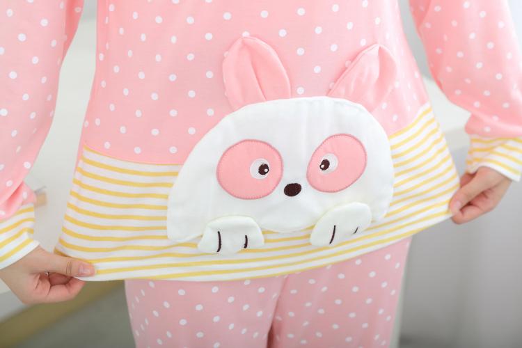 【可爱卡通女士纯棉哺乳装】-内衣-女士内衣/家居服