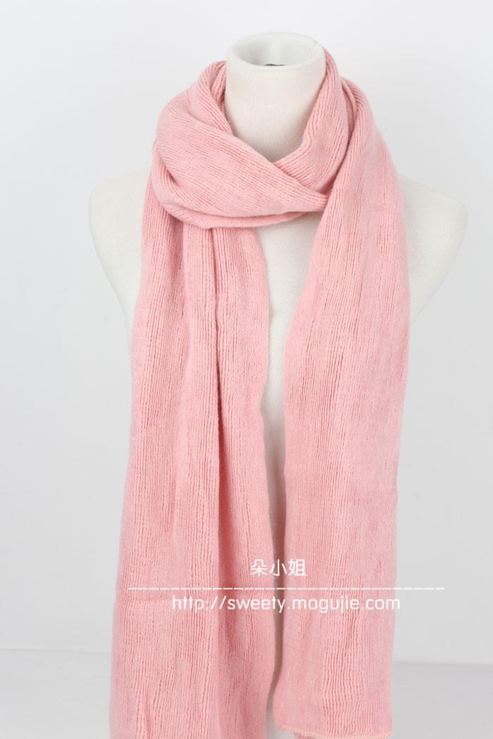 温暖软绵绵亲肤围巾整体款式图片
