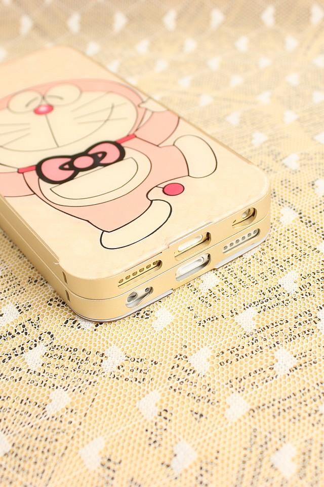 【叮当猫 iphone6金属边框手机壳】-配饰-手机配件