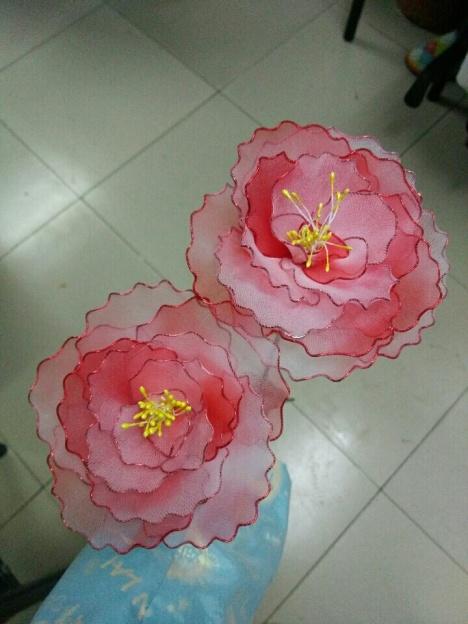 丝网花~牡丹,纯手工制作[偷笑