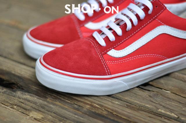 【万斯新款gd权志龙同款红色板鞋】-鞋子-板鞋_运动鞋