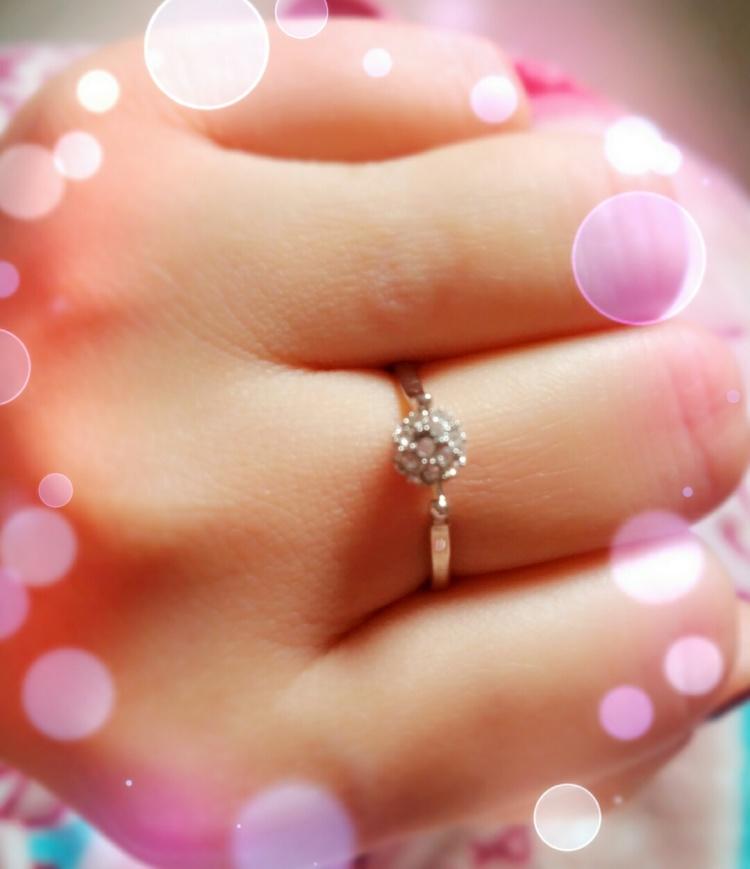 17# 转运珠戒指 珠子全微镶钻转动幸运 转动爱
