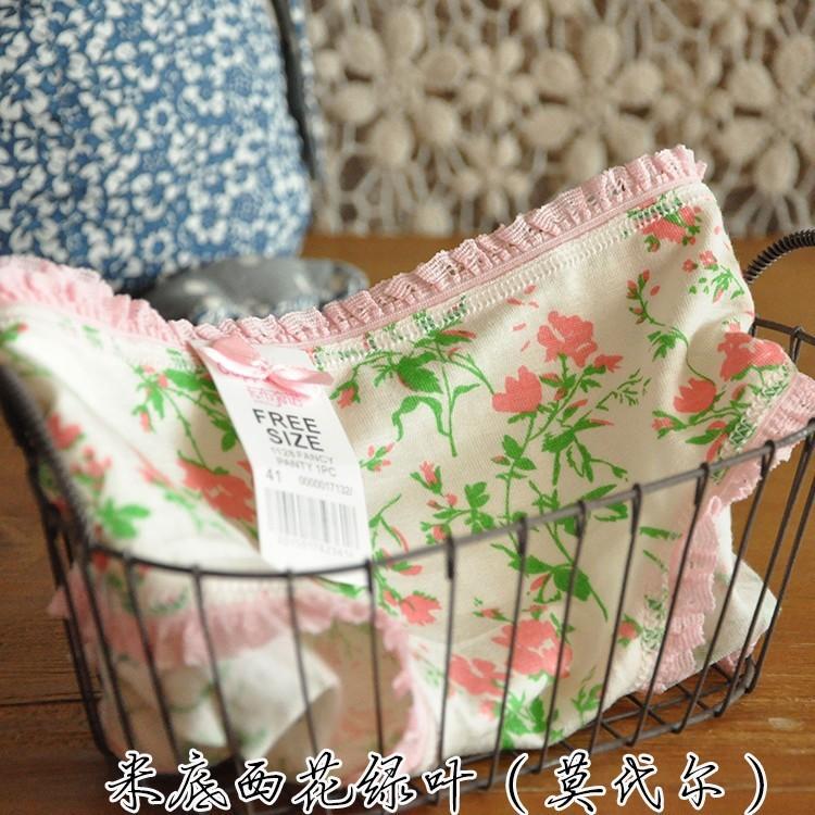 【韩国少女小清新花边内裤】-内衣-女士内衣/家居服