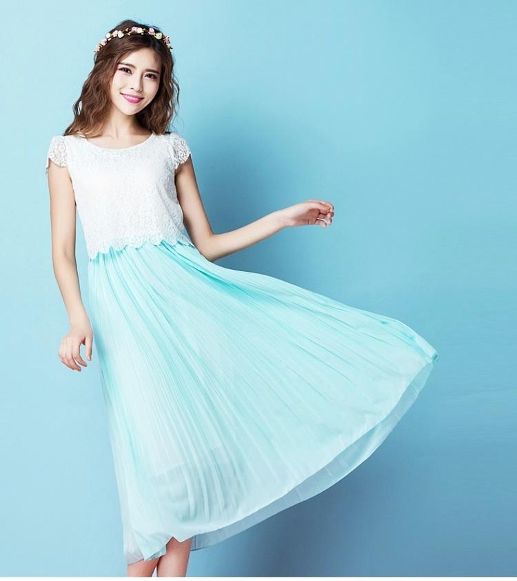 【镂空花纹连衣裙】-衣服-连衣裙