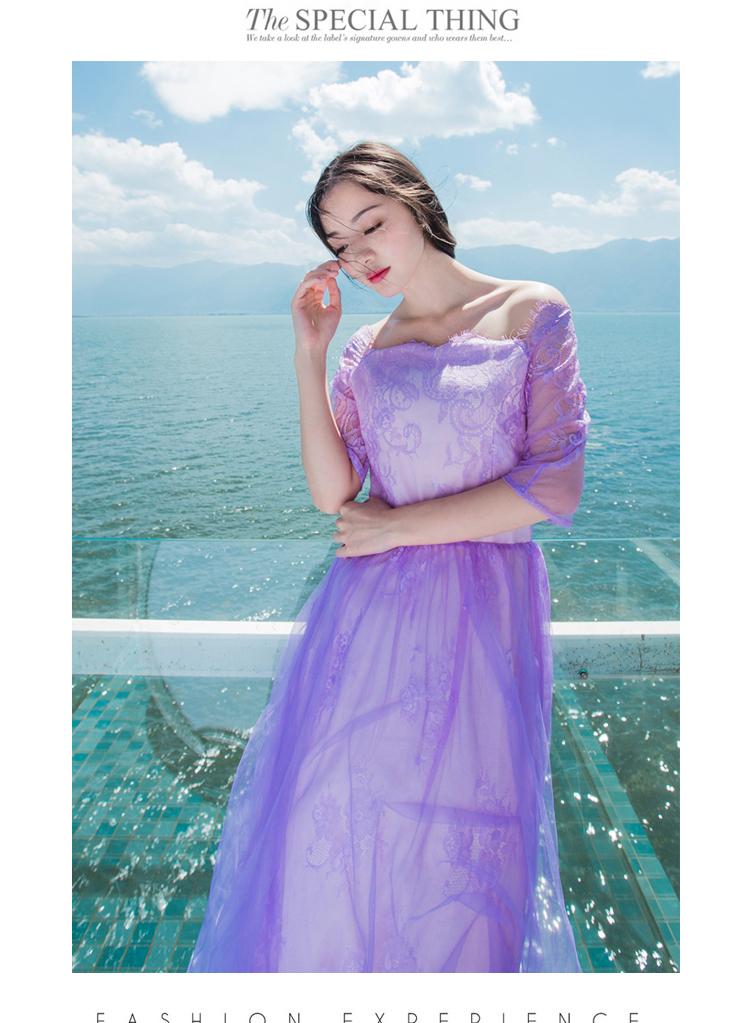 粉浅紫色搭配图片