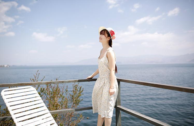 【【怪咖】镂空吊带裙两件套】-衣服-套装/学生校服