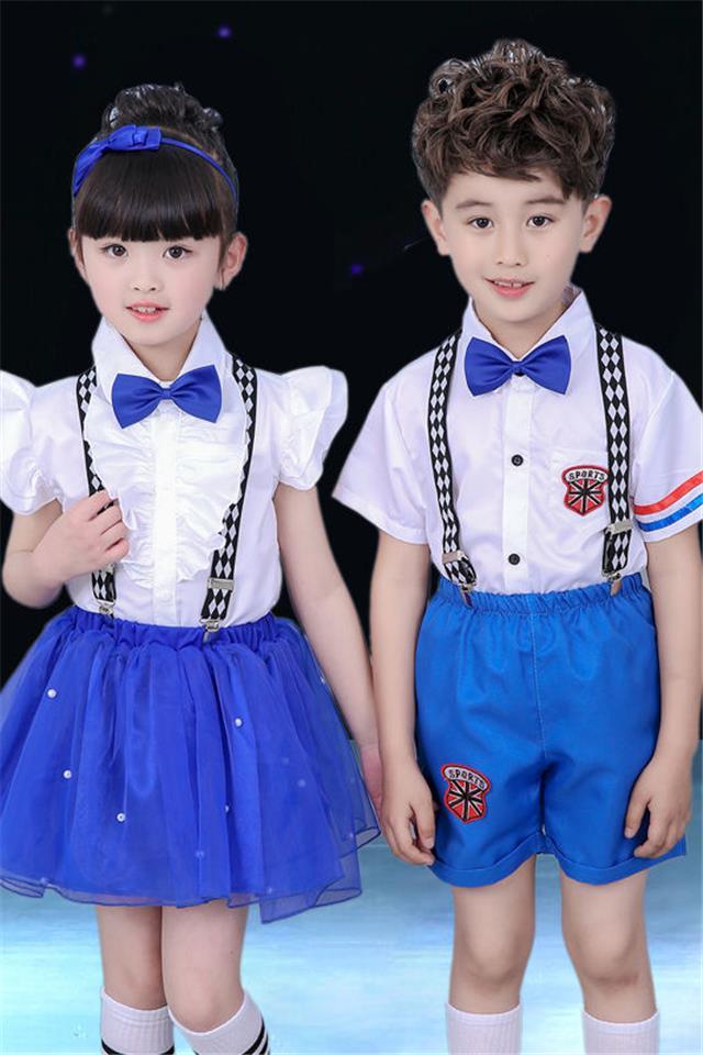 6一儿童节表演服装儿童合唱服演出服幼儿园舞蹈服女童公主裙蓬蓬
