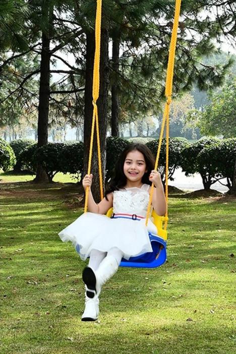 小孩玩具儿童秋千室内外家用三合一婴幼儿荡秋千户外吊椅宝宝秋千