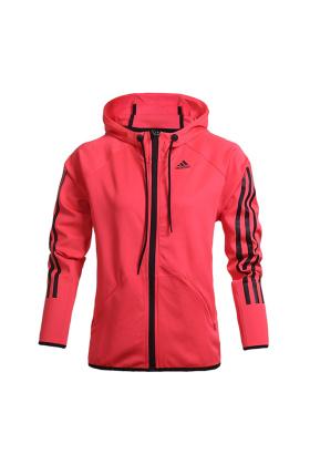 阿迪达斯女运动外套搭配图片 阿迪达斯女运动外套怎么搭配 阿迪达斯女运动外套如何搭配 爱蘑菇街