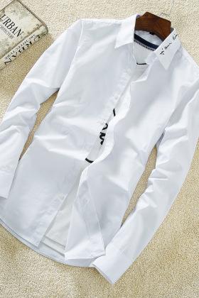 衣服男秋装衬衫学生搭配图片_衣服男秋装衬衫