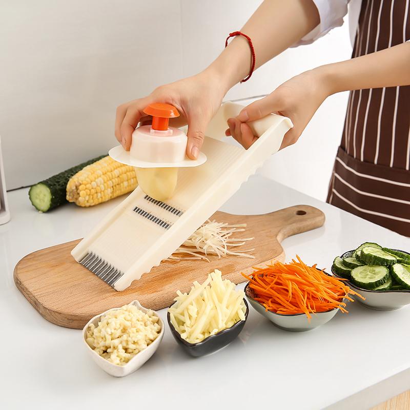 小姿家居 多功能切菜器厨房用品切菜切片器家用刨丝擦丝器切土豆丝