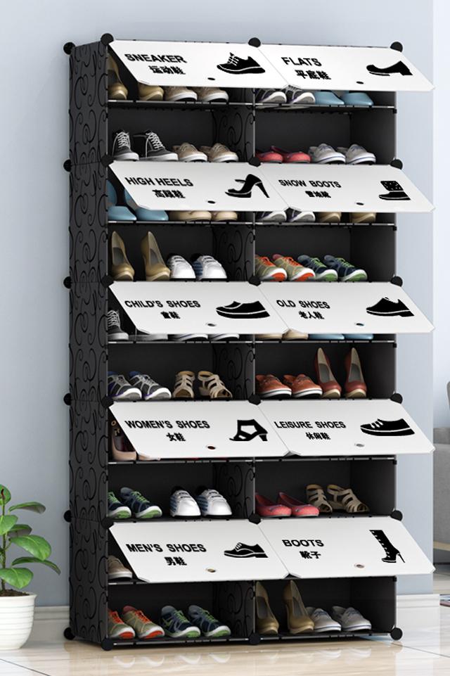 鞋柜鞋架多层组装