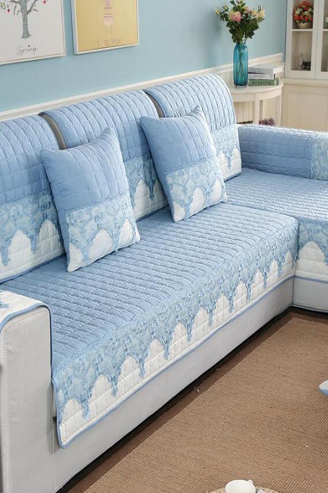 沙發墊四季通用布藝防滑坐墊簡約現代沙發套全包萬能套沙發罩全蓋圖片