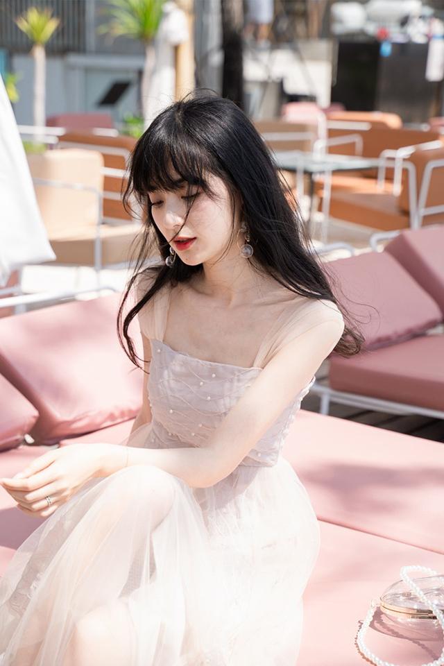 小镇姗姗浪漫法则很仙的法国小众吊带连衣裙2019新夏网纱裙子