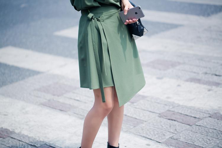 【绿色半身裙】-衣服-半身裙_裙子_女装_服饰鞋包-师