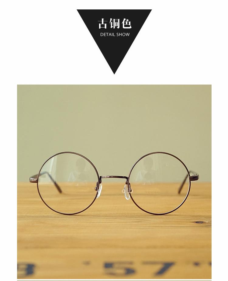 【韩国圆形框架眼镜】-配饰-配饰