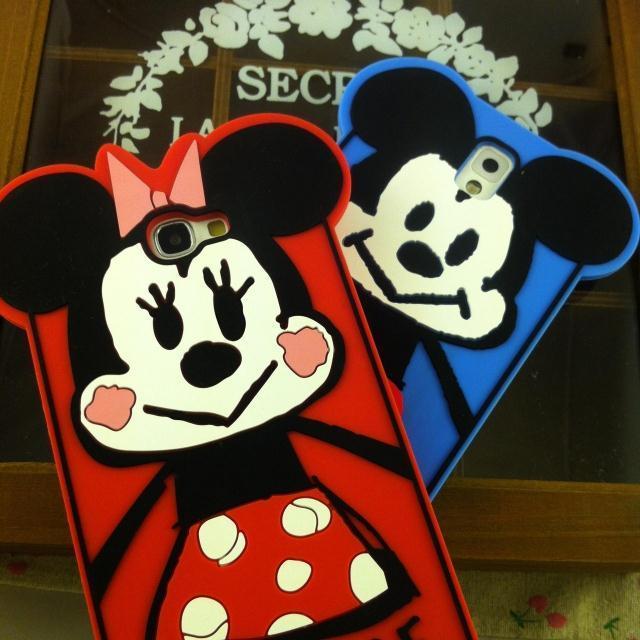 三星s5 s4 s3可爱迪士尼米老鼠手机壳