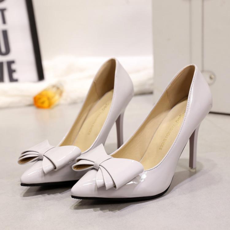 【甜美可爱细跟尖头高跟鞋】-鞋子-女鞋