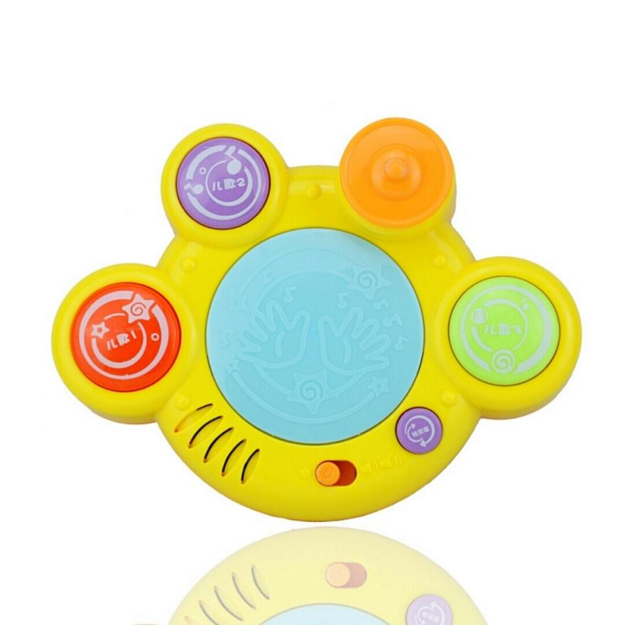 早教儿童玩具电子动感拍拍鼓婴幼