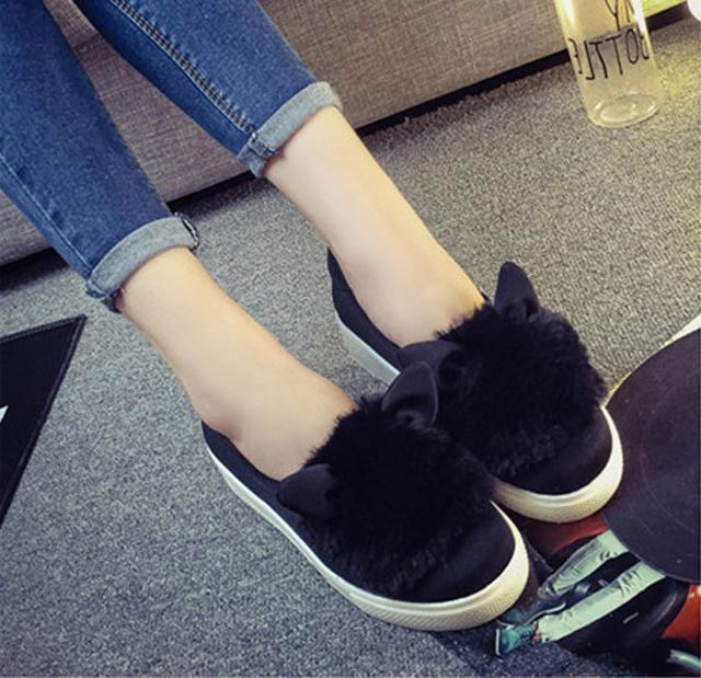 可爱娃娃头休闲单鞋
