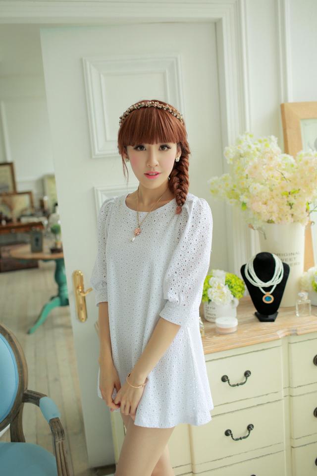 韩版甜美可爱连衣裙 学生装