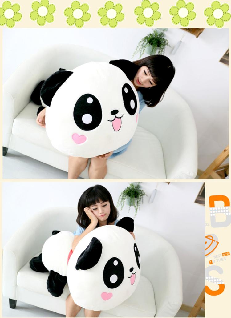 可爱趴趴熊猫 呆萌的表情