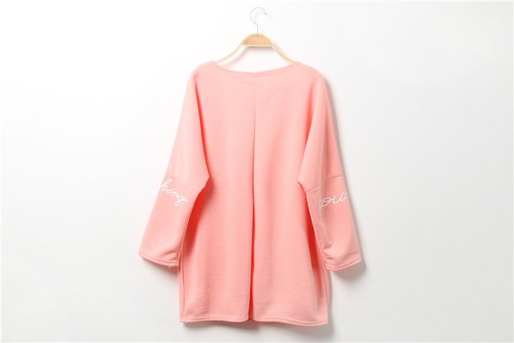【原宿卡通大口袋t恤裙】-衣服-裙子