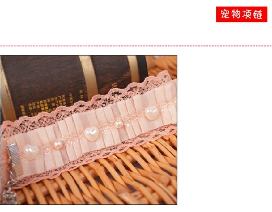 蕾丝围巾 超萌可爱公主猫狗范项