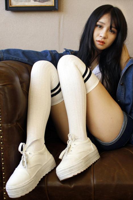 丝袜,打底,假高筒