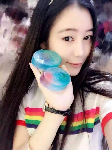 【韩国anna安娜七彩海洋精华皂精油手工皂美白补水】